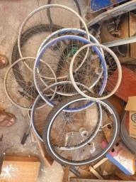 Rodas de bicicleta 4 aero 26,  2 aro 20 e 1 26 normal retirar hoje