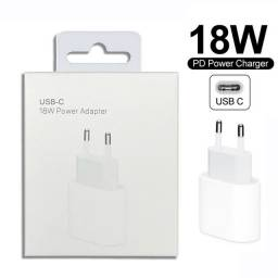 Fonte iPhone USB-C 18W Turbo power