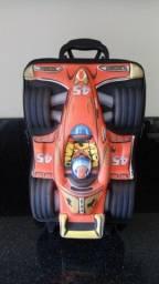 Mochila de rodinha, 3d maxtoy, com alça, carro de corrida, f1