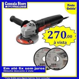 Esmerilhadeira Skil 700w c/ 2 Disco de corte