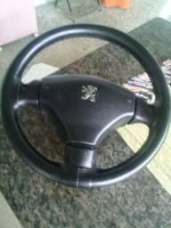 volante forrado pegeout 206/207