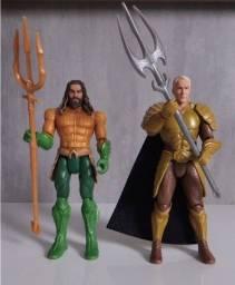 Bonecos Aquaman e Orm 15 cm