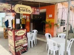 Passo restaurante em funcionamento no Andaia