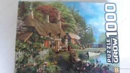 Quebra-Cabeça de 1000 peças - Casa no Lago - da Grow
