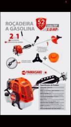 Roçadeira a gasolina yamasaki 52cc (nova)