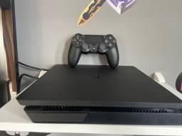 PS4 Slim 500gb super conservado! Todo perfeito! Com vários Jogos!!