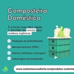 Composteira Doméstica Sustenta