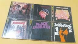 Coleção 6 cd's Black Sabbath remasterizado