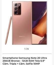 Galaxy note 20 Ultra Novo com Nota