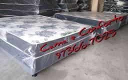 CAMA BOX CASAL $349,99!!! ENTREGA GRÁTIS!!!