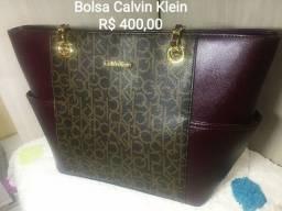 Bolsa Calvin Klein - nova