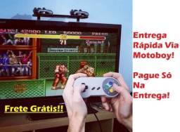Console Game Super (Mini Sfc) com 620 Jogos - Frete Grátis! Poucas Unidades!