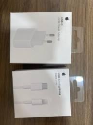 Fonte e cabo carregador para iPhone