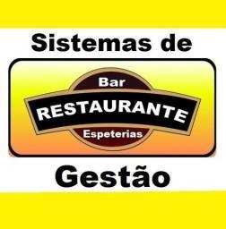 Sistema de Gestão para Restaurantes, Bares, Espeterias e afins. Caixa, Estoque, Financeiro