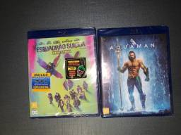 Vendo Blu Ray Esquadrão Suicida e Aquaman