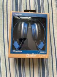 Fone Bomber hb02 BLUE novo.