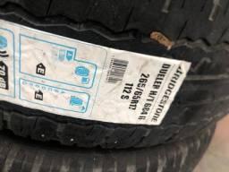 Vendo estes 4 pneus da Bridgestone roda 265/65 R17