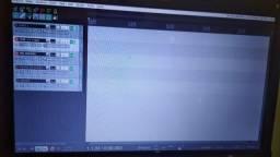 Teclado controlador + kit completo para tocar ao vivo e para home studio