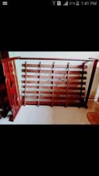 Cama de madeira maciça(Pau d' arco