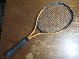 Raquete de tênis semi-nova Wilson Titanium soft shock 3