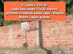 Terreno de 720 m² no Bairro Lagoa Grande