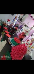Berbie Noel com brincos e gorro Noel linda 50cm por 50,00