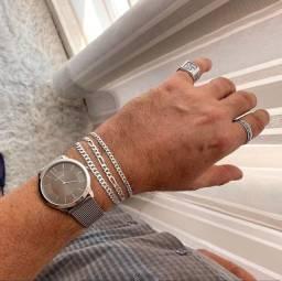 Pulseira Masculina de prata