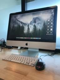 iMac 21,5 polegadas, ano 2010, i3, 12gb memória DDR3, HD 500gb