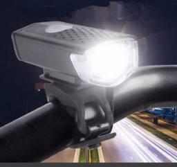Lanterna Farol para Bike Recarregável usb