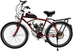 Bike motorizada semi nova caiçara 50cc