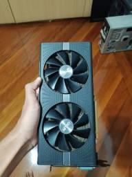 RX 580 de 8GB Vram (semi-nova sem vídeo) troco em placa com menos desempenho