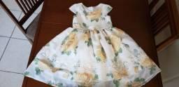 Vestido floral Petit Cherie tam 4