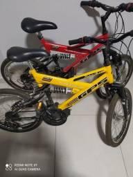 Bicicleta aro 20 semi nova.