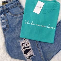 Tshirts femininas.