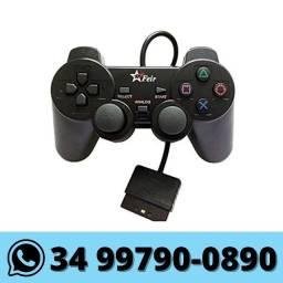 Controle Joystick Ps2 Playstation 2 com Fio