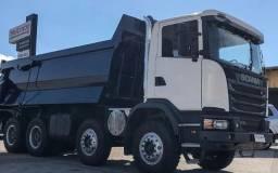 Scania g440 2018 8x4 caçamba rossetti
