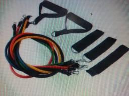 trx  elastico caneleira colchonete