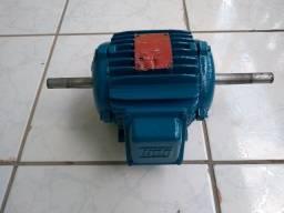 Motor Elétrico Trifásico Duplo Eixo Weg 075cv 1140rpm usado
