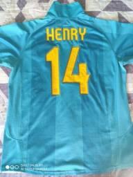 Camisa Barcelona ORIGINAL - Henry 14 (XL)
