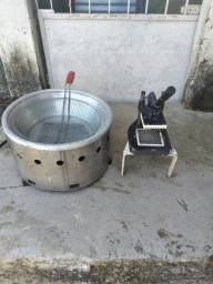 Máquina de assar batatinhas