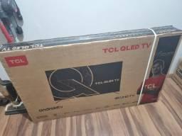 TV 55 QLED 4k TCL C715 - Lacrada com nota fiscal e garantia de 1 ano.