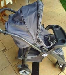 Carrinho + ninho + bebe conforto (Burigotto)