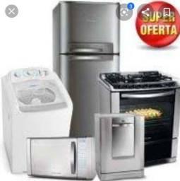 Título do anúncio: Máquina de lavar e geladeira - Manutenção
