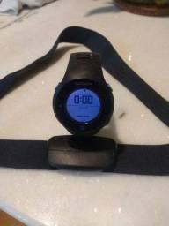 Relógio Monitor Cardíaco c/ GPS Garmin 610 - Forerunner - Preto