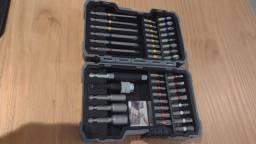 Kit de Pontas e Soquetes Bosch para parafusar com 43 unidades