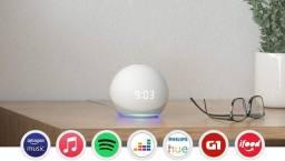 Alexia - Echo Dot (4ª geração): Smart Speaker com Relógio e Alexa - Cor Branca<br><br>