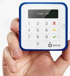 SumUp Top A Maquininha de Cartão Sem Aluguel Débito e Crédito - Bluetooth