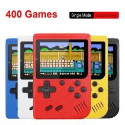 Mini game retro com 400 jogos