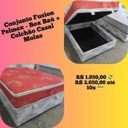 Entrega grátis de Conjunto Casal com box baú Pelmex