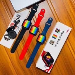 Smartwatch T55+ (12X SEM JUROS) (FRETE GRÁTIS)